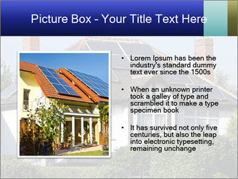 House With Solar Panel PowerPoint Template - Slide 13