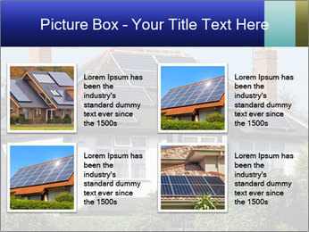 House With Solar Panel PowerPoint Template - Slide 14