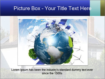 House With Solar Panel PowerPoint Template - Slide 15