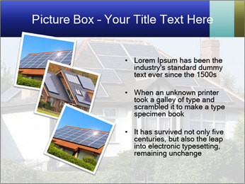 House With Solar Panel PowerPoint Template - Slide 17