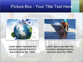 House With Solar Panel PowerPoint Template - Slide 18