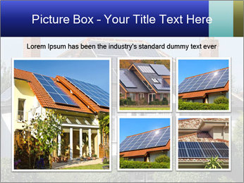 House With Solar Panel PowerPoint Template - Slide 19