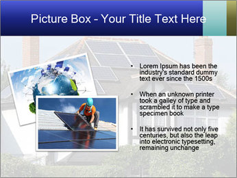 House With Solar Panel PowerPoint Template - Slide 20