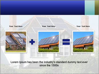 House With Solar Panel PowerPoint Template - Slide 22