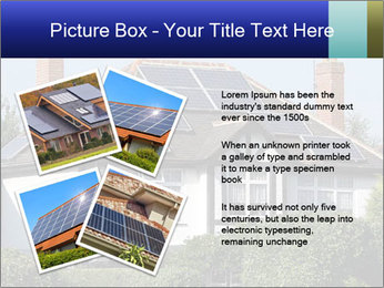House With Solar Panel PowerPoint Template - Slide 23
