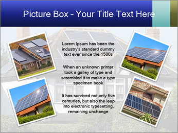 House With Solar Panel PowerPoint Template - Slide 24