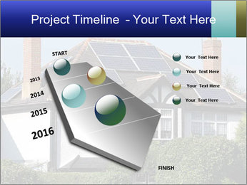 House With Solar Panel PowerPoint Template - Slide 26