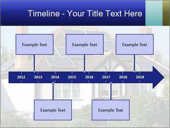 House With Solar Panel PowerPoint Template - Slide 28