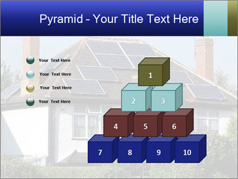 House With Solar Panel PowerPoint Template - Slide 31