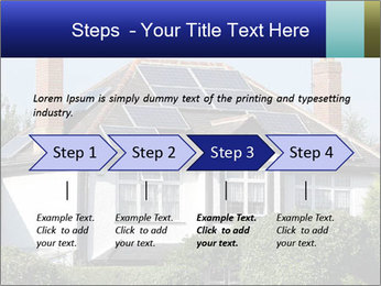House With Solar Panel PowerPoint Template - Slide 4