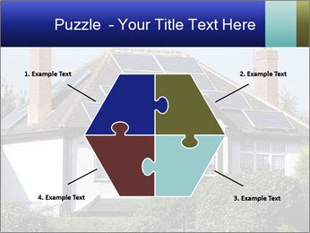 House With Solar Panel PowerPoint Template - Slide 40