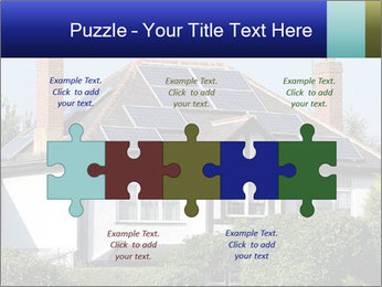 House With Solar Panel PowerPoint Template - Slide 41