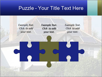 House With Solar Panel PowerPoint Template - Slide 42