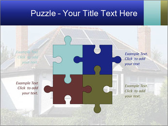 House With Solar Panel PowerPoint Template - Slide 43