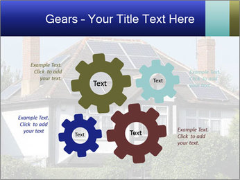 House With Solar Panel PowerPoint Template - Slide 47