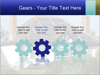 House With Solar Panel PowerPoint Template - Slide 48