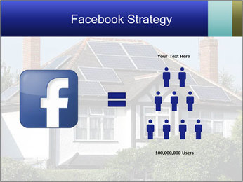 House With Solar Panel PowerPoint Template - Slide 7