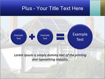 House With Solar Panel PowerPoint Template - Slide 75