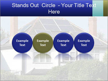 House With Solar Panel PowerPoint Template - Slide 76
