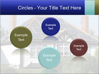 House With Solar Panel PowerPoint Template - Slide 77