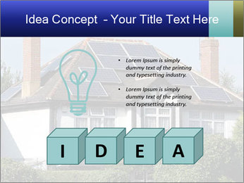 House With Solar Panel PowerPoint Template - Slide 80