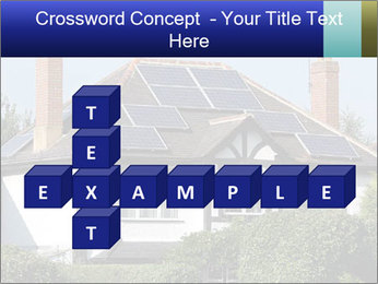 House With Solar Panel PowerPoint Template - Slide 82