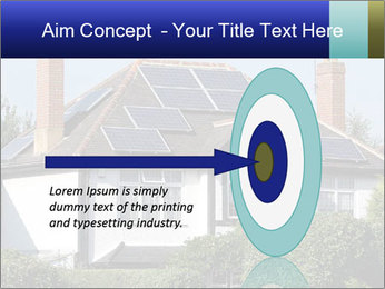 House With Solar Panel PowerPoint Template - Slide 83