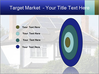 House With Solar Panel PowerPoint Template - Slide 84