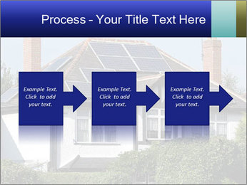 House With Solar Panel PowerPoint Template - Slide 88