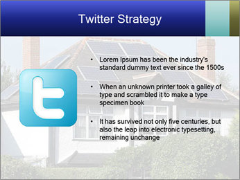 House With Solar Panel PowerPoint Template - Slide 9