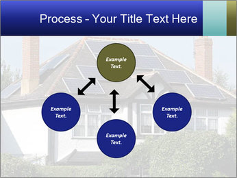 House With Solar Panel PowerPoint Template - Slide 91