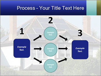 House With Solar Panel PowerPoint Template - Slide 92