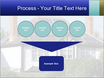 House With Solar Panel PowerPoint Template - Slide 93