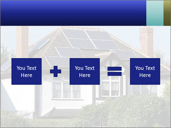 House With Solar Panel PowerPoint Template - Slide 95