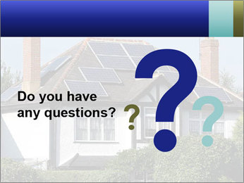 House With Solar Panel PowerPoint Template - Slide 96