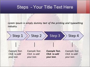 Heart-Shapes DecorativePillow PowerPoint Template - Slide 4
