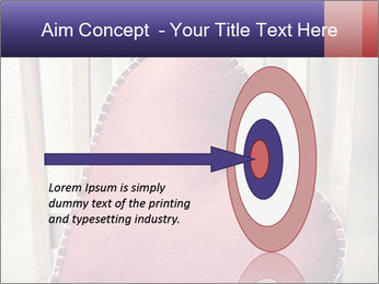 Heart-Shapes DecorativePillow PowerPoint Template - Slide 83