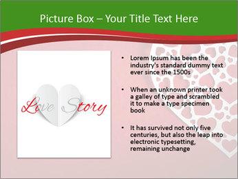 Silver Heart PowerPoint Template - Slide 13