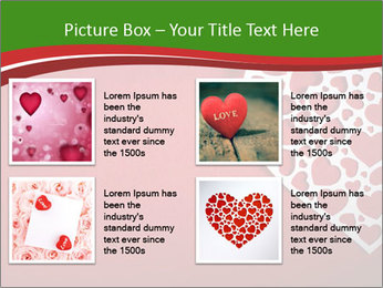 Silver Heart PowerPoint Template - Slide 14