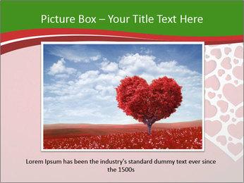 Silver Heart PowerPoint Template - Slide 16