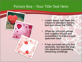 Silver Heart PowerPoint Template - Slide 17