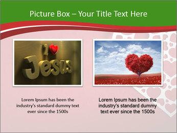 Silver Heart PowerPoint Template - Slide 18