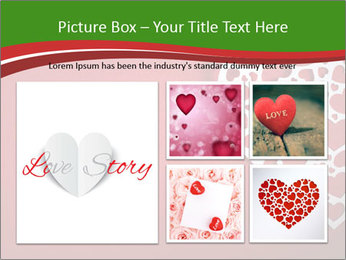 Silver Heart PowerPoint Template - Slide 19
