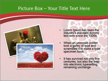 Silver Heart PowerPoint Template - Slide 20