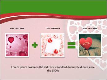 Silver Heart PowerPoint Template - Slide 22
