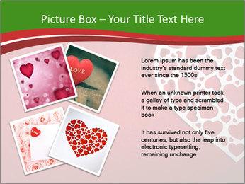 Silver Heart PowerPoint Template - Slide 23