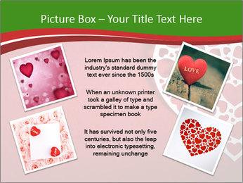 Silver Heart PowerPoint Template - Slide 24