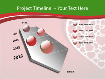 Silver Heart PowerPoint Template - Slide 26