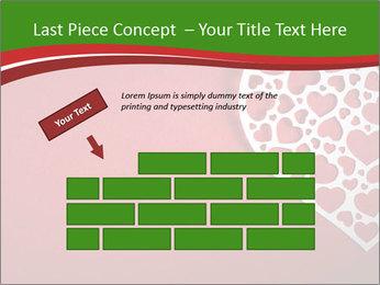Silver Heart PowerPoint Template - Slide 46