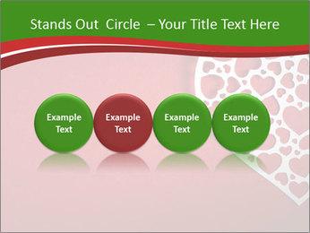 Silver Heart PowerPoint Template - Slide 76